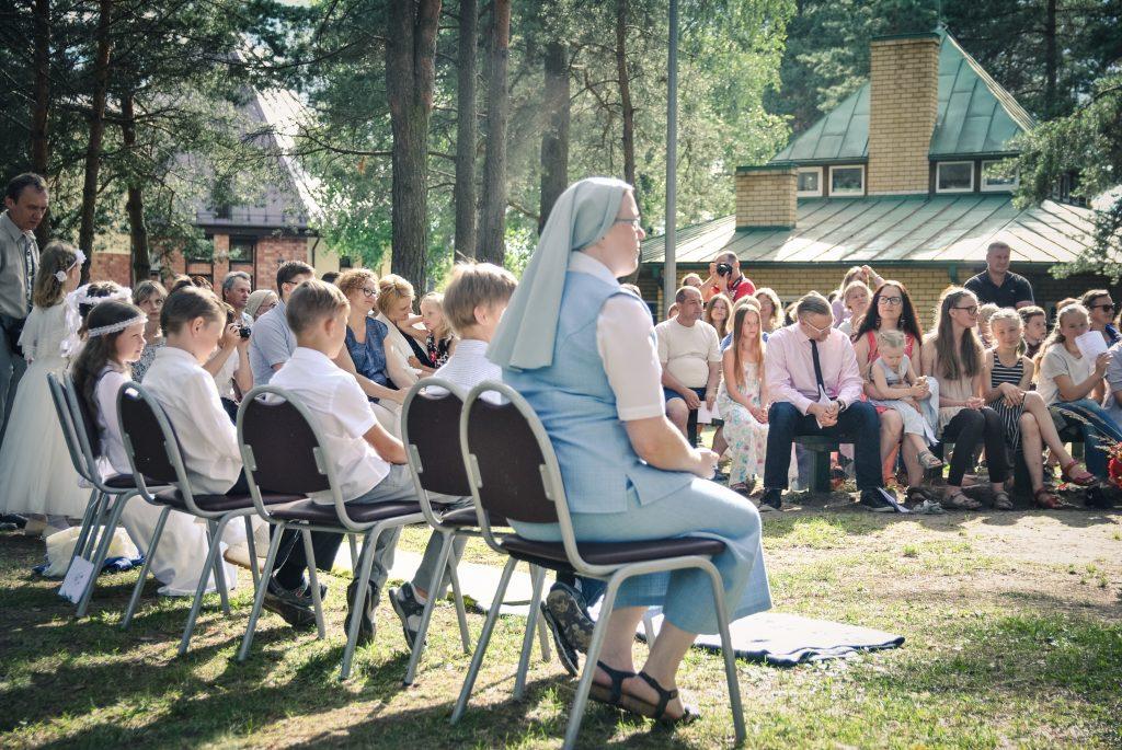 Akimirka iš šeimų stovyklos